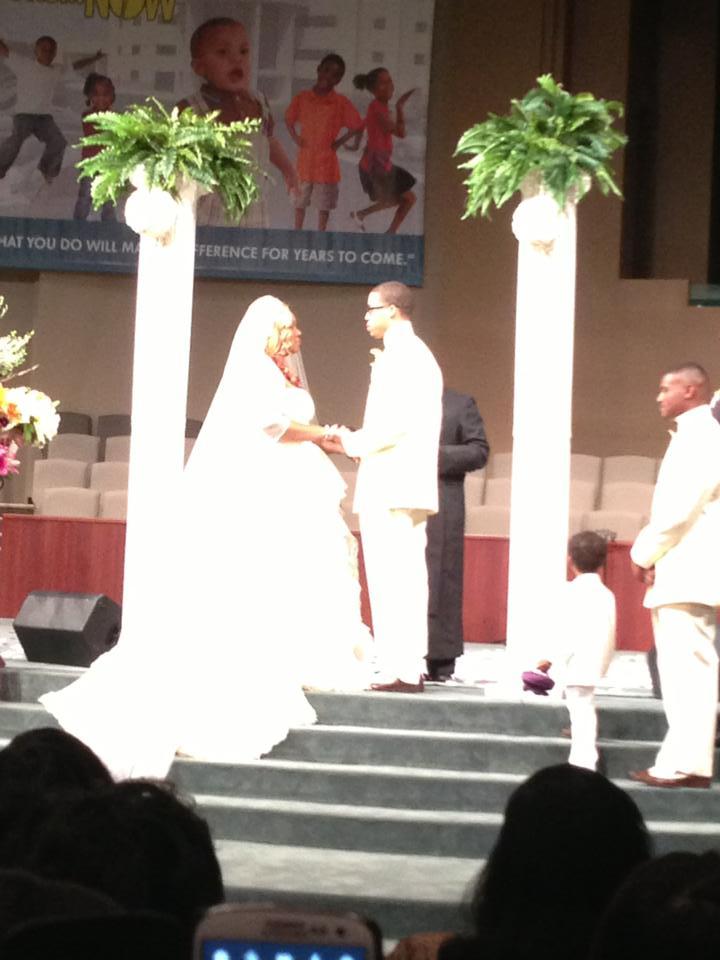 Chad Stevenson, Alvaneeta Nelson wedding
