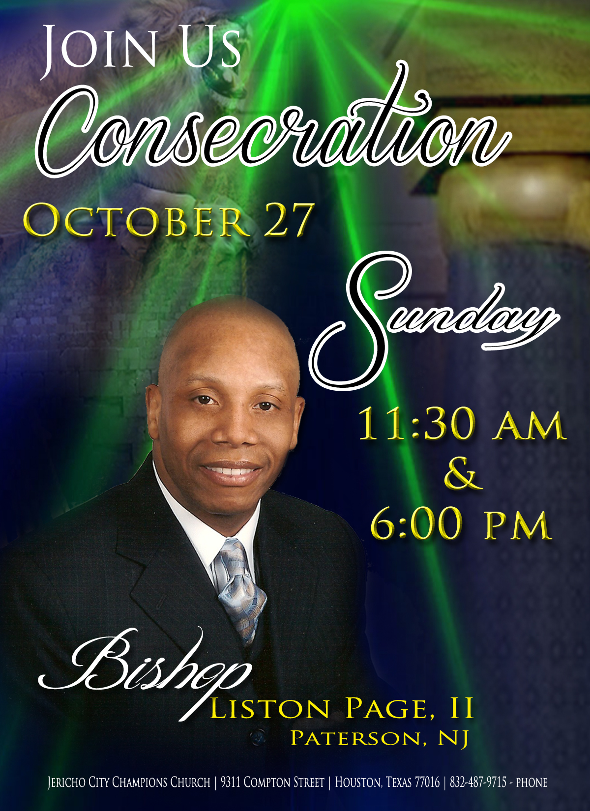 consecration back