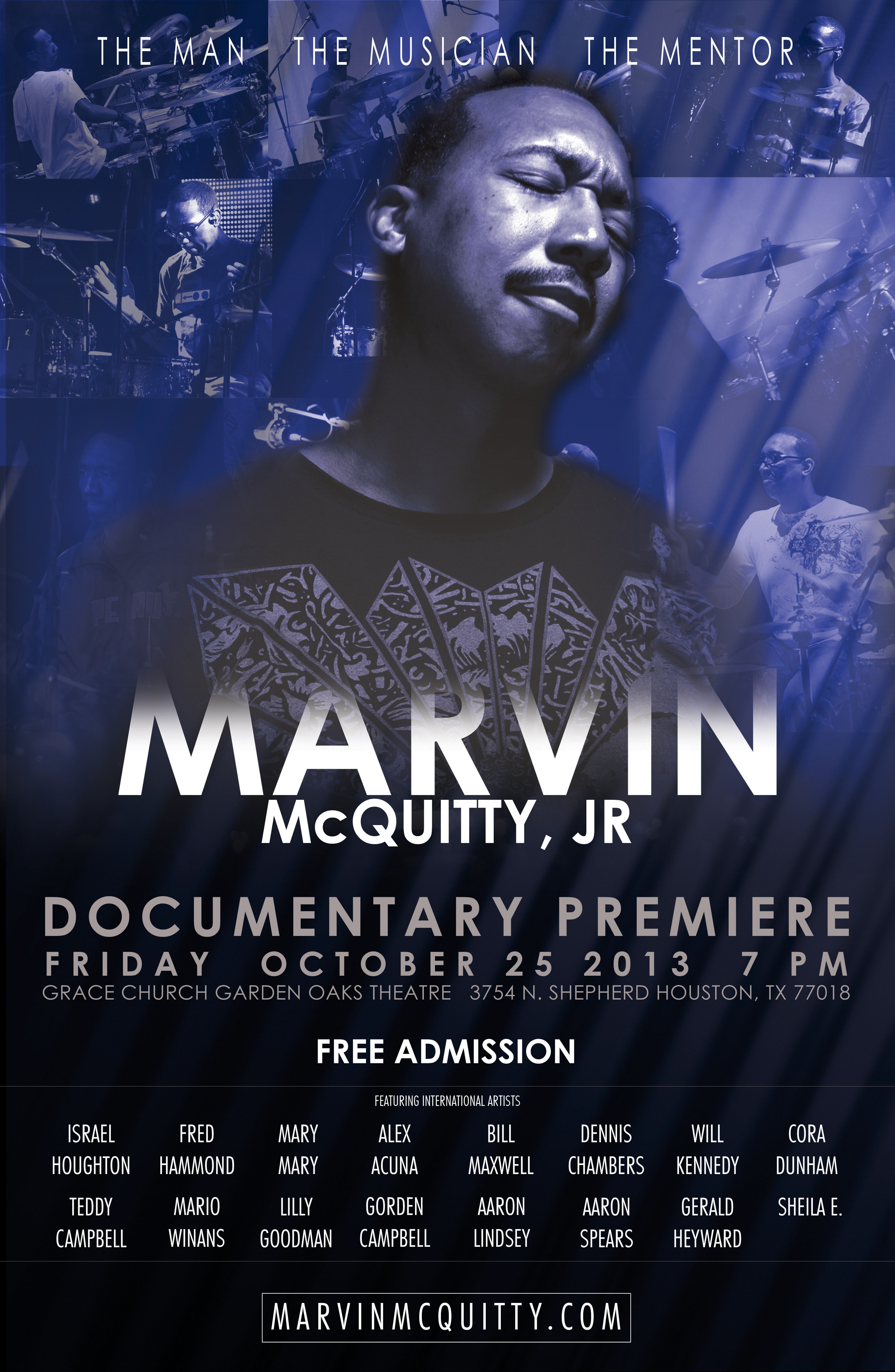 Marvin McQuitty Documentary - Premiere Poster