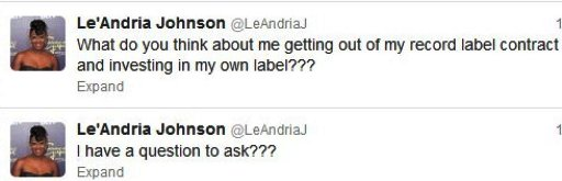 Leandria-Label-Tweets-1