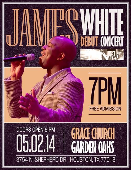 Debut Concert - James White