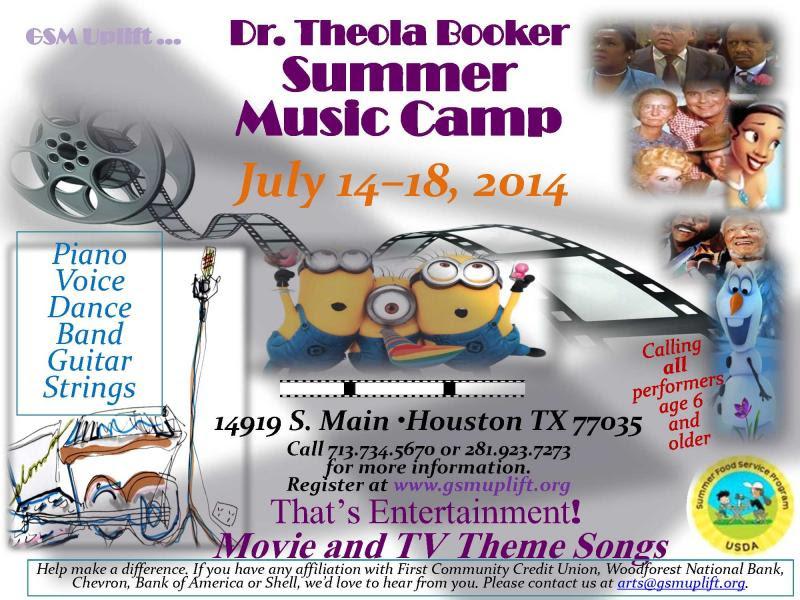 Theola Booker Music Camp