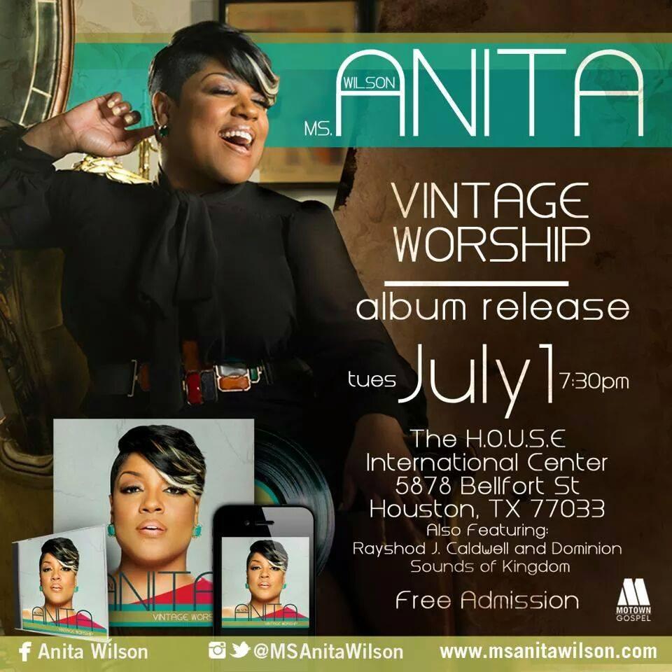 Anita Wilson album release
