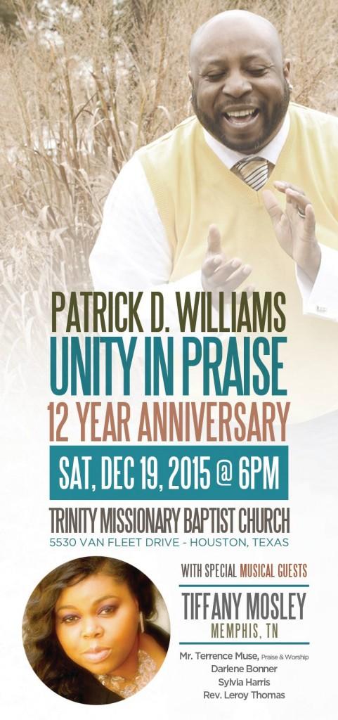 Patrick Williams UIP Anniversary