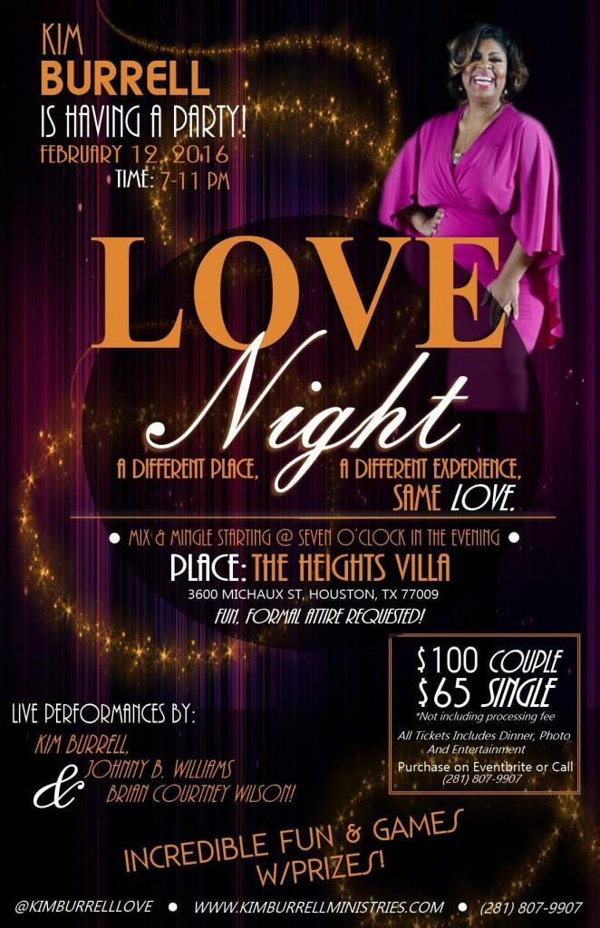 Kim  Burrell Love Night