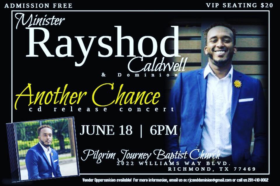 Rayshod Caldwell - Release