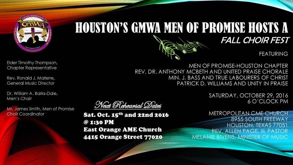 Men of Promise GMWA Houston