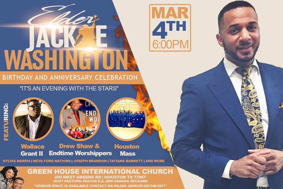 Jackie Washington concert