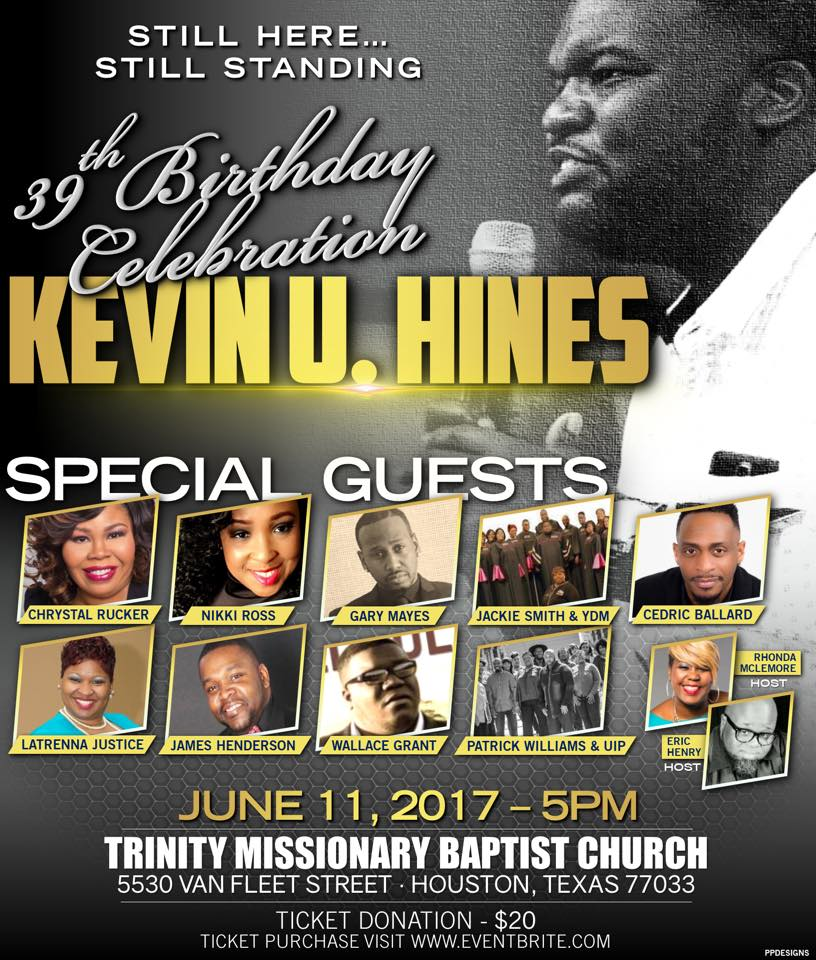 Kevin Hines Birthday Celebration
