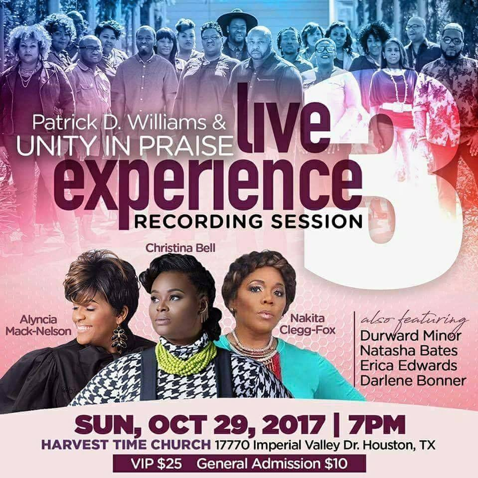 Patrick Williams Houston live recording