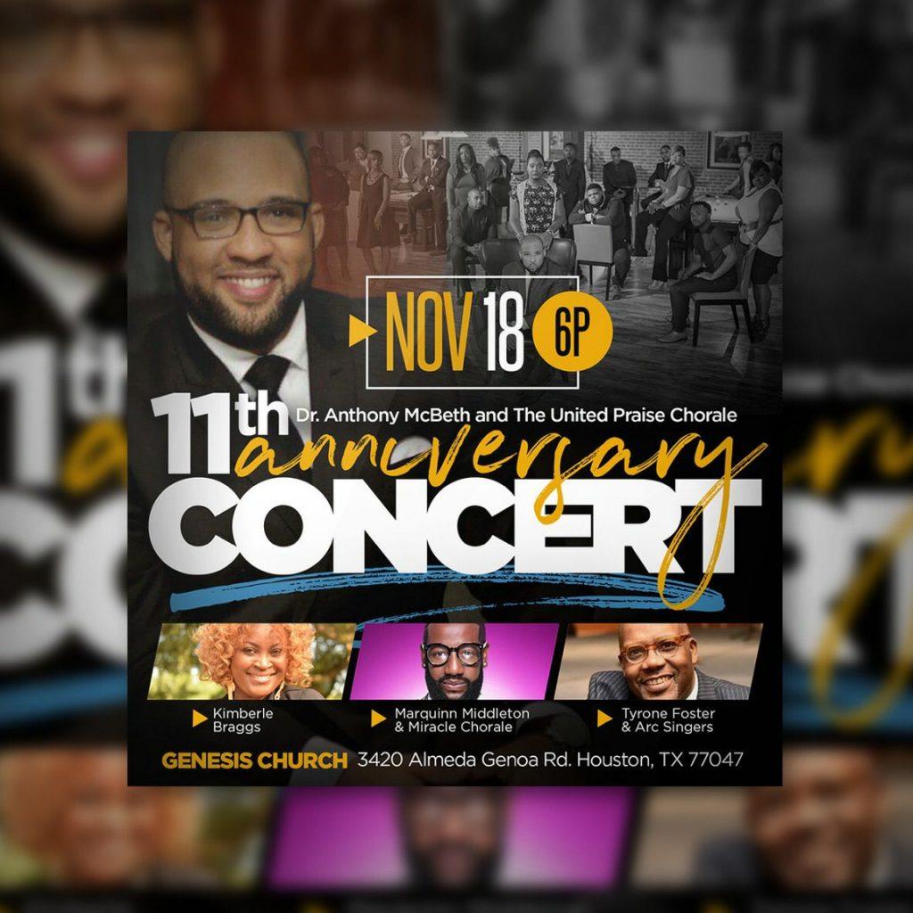 Anthony McBeth Nov 18 Concert