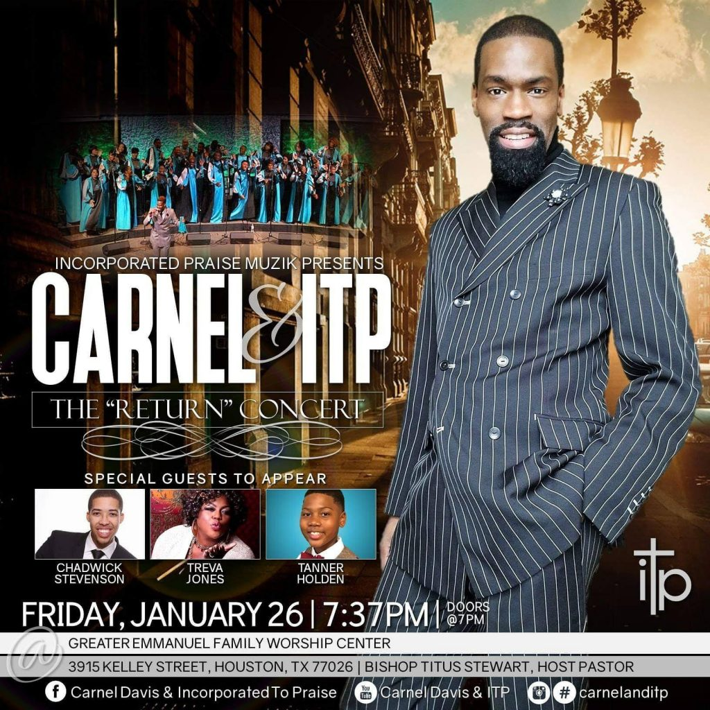 Carnel Davis ITP 2018 Houston