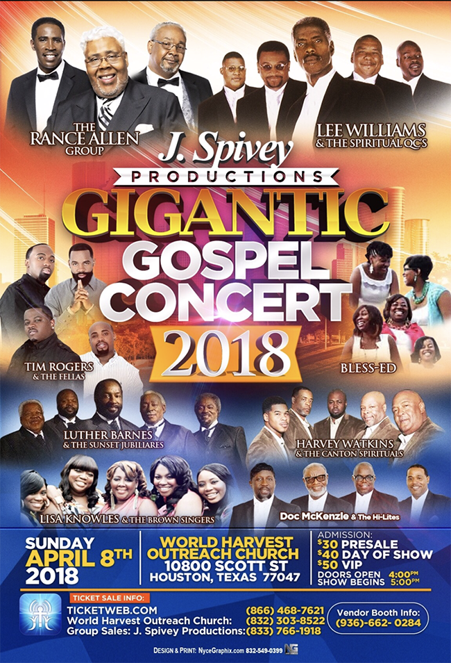 Gigantic Gospel Concert