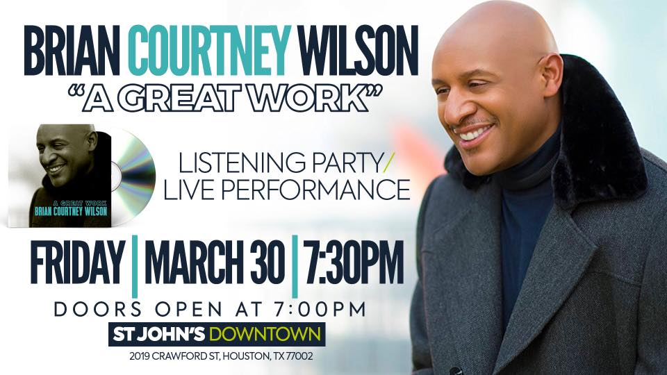 Brian Courtney Wilson Listening Party
