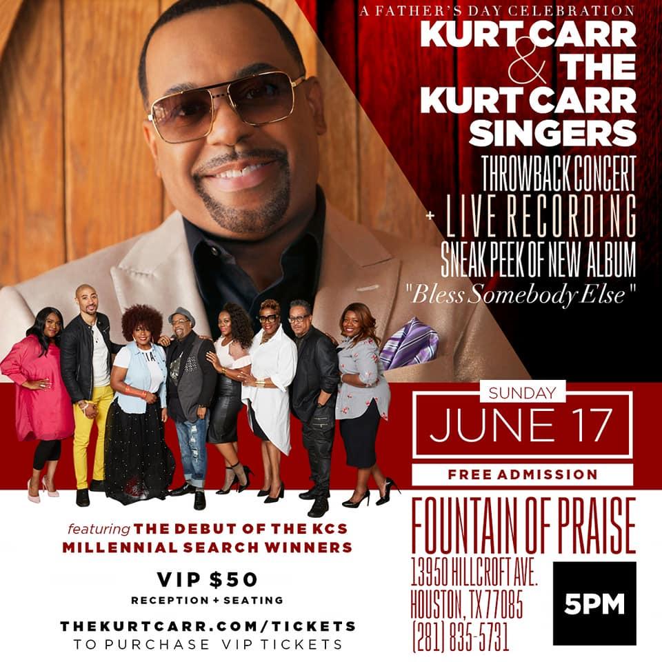 Kurt Carr Concert Live Recording