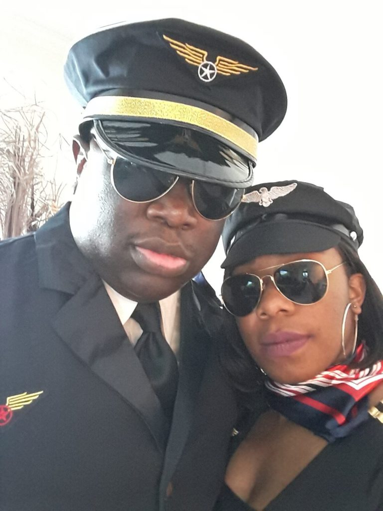 Unity Airlines Pastor and wife