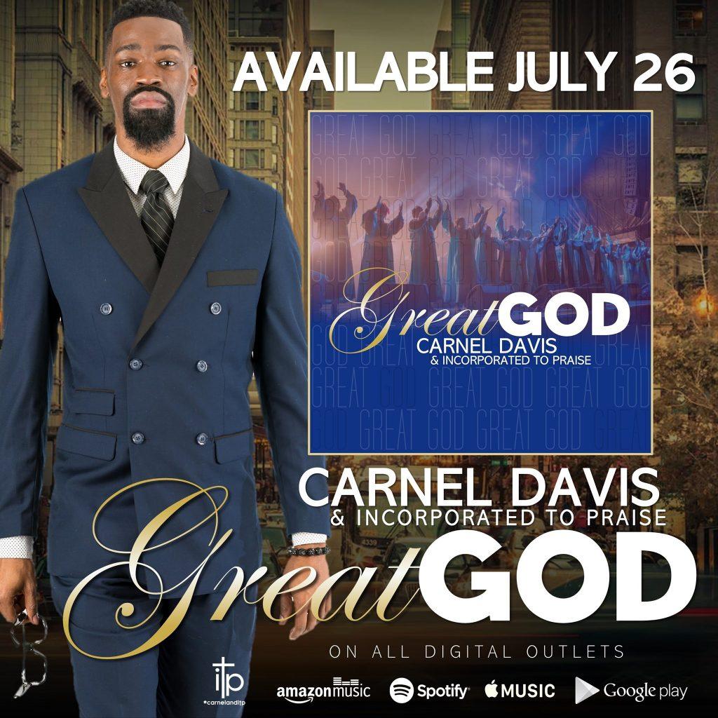 Carnel Davis Jr Great God single