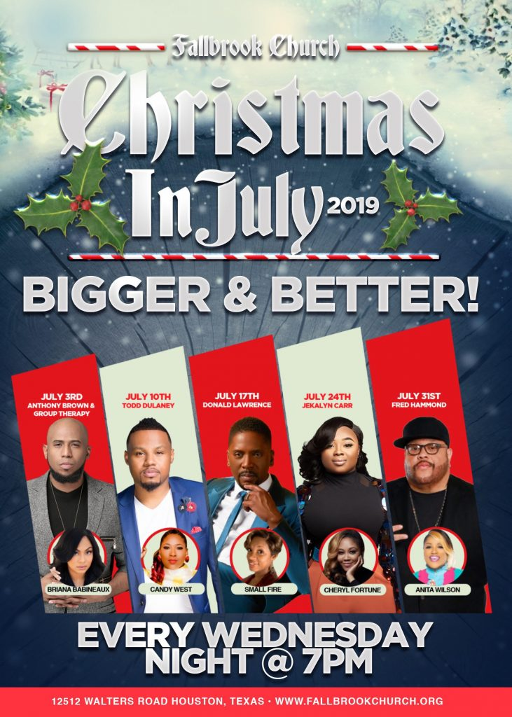 Fallbrook Church Christmas In July 2020 Fallbrook hosts 'Christmas in July' Wednesdays with major artists