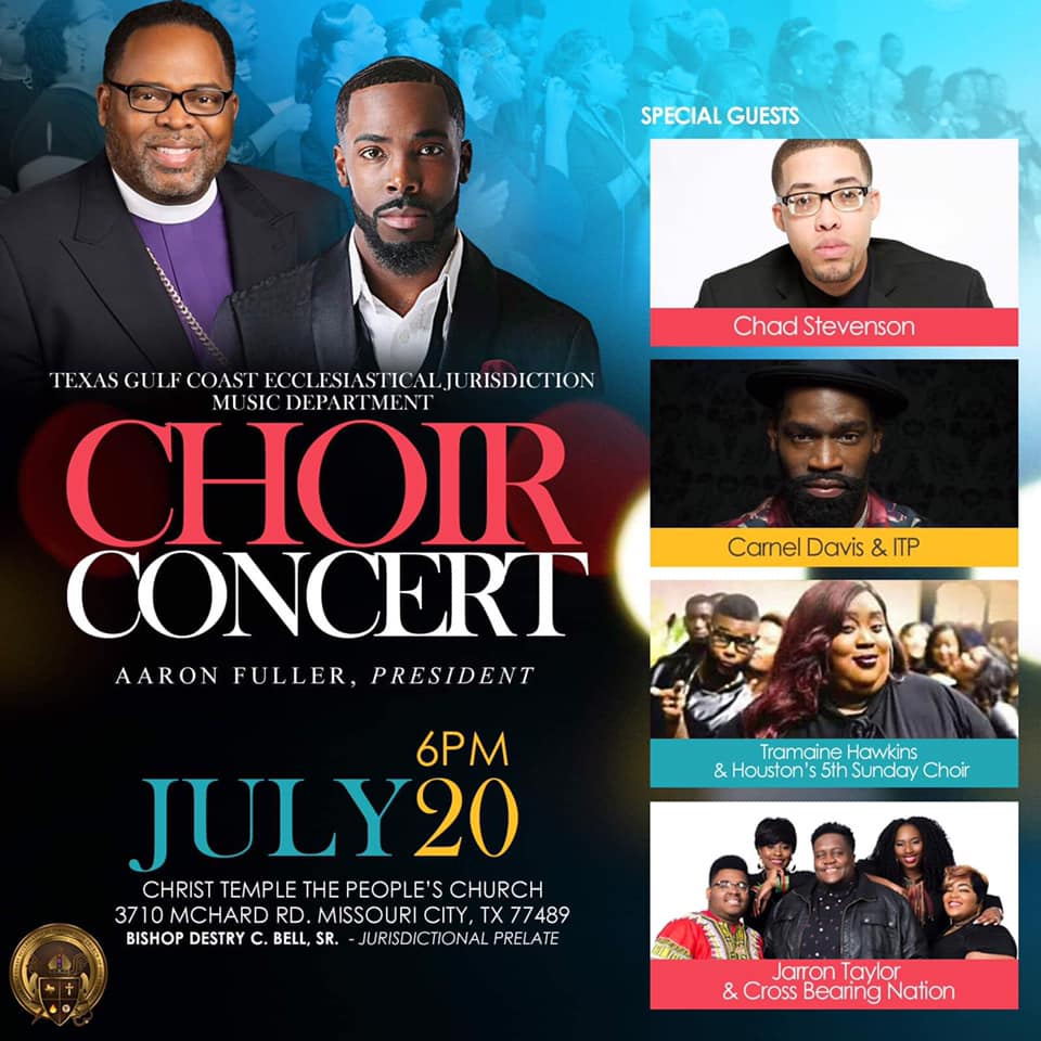 Houston COGIC Choir Concert