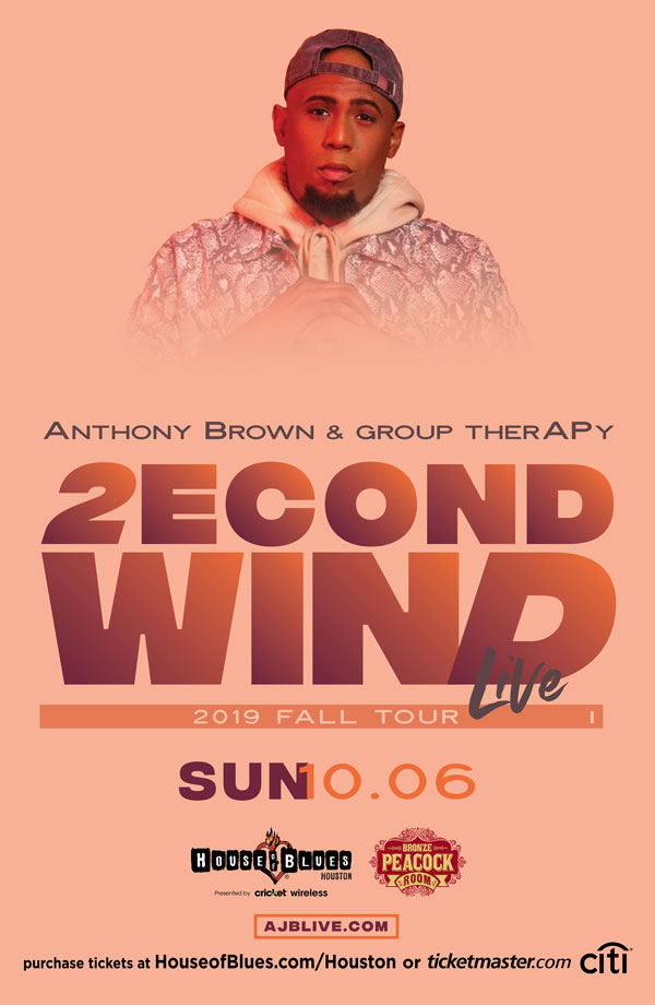 Anthony Brown & Group TherAPy - Houston concert