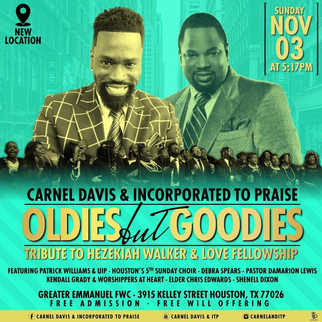 Carnel Davis ITP Houston Concert