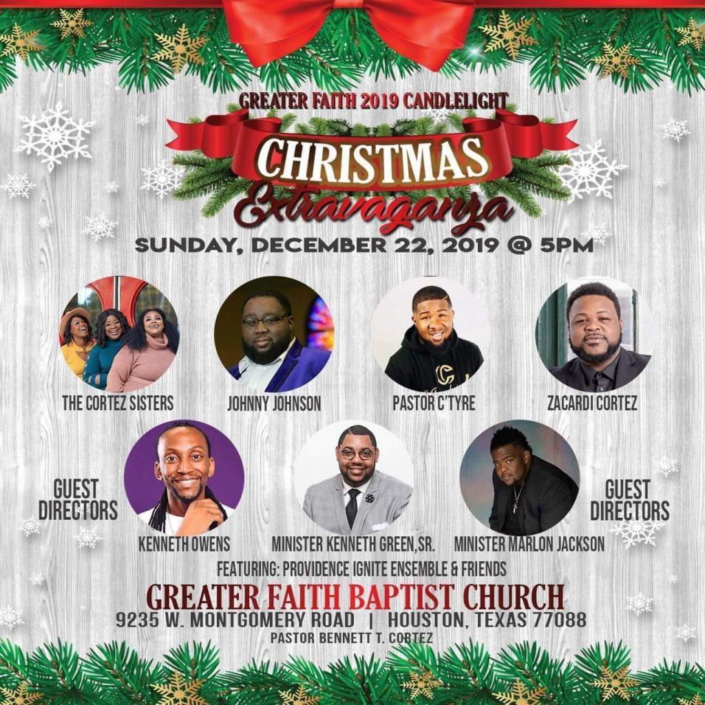 Christmas Extravaganza 2019 Greater Faith Baptist Church