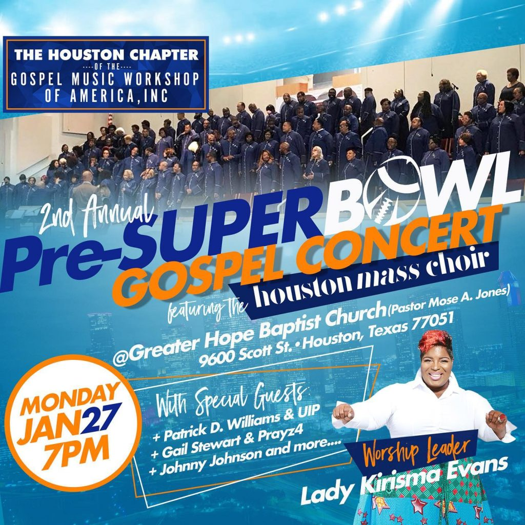 Pre-Super Bowl Gospel Concert - Houston