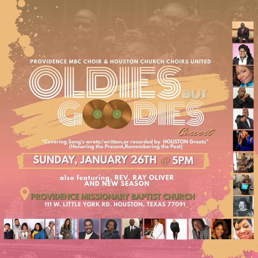 Oldies but Goodies Houston Concert