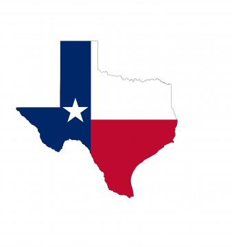 Texas State Flag banner