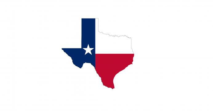 Texas State Flag banner