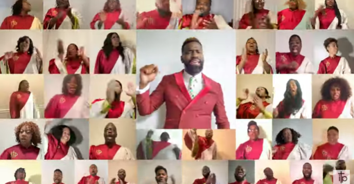 Carnel Davis & ITP virtual choir