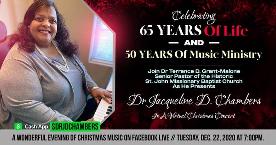 Dr. Jacqueline D. Chambers 50th anniversary