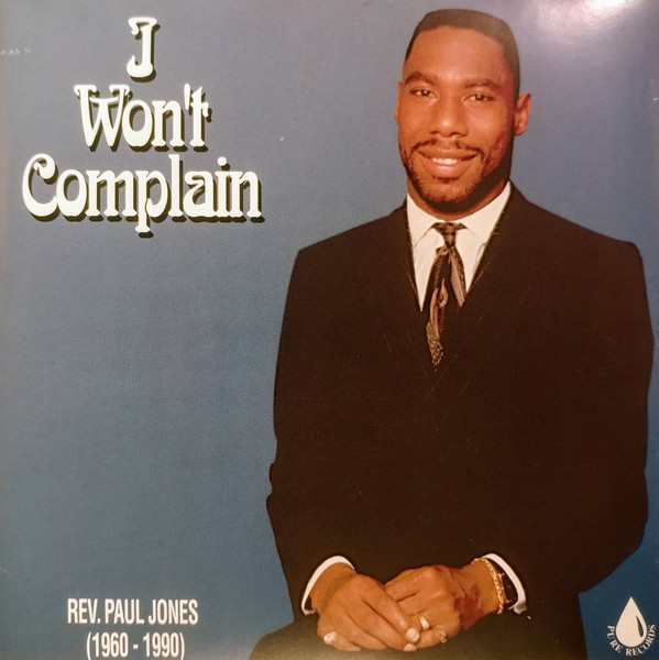 Paul Jones - I Won't Complain