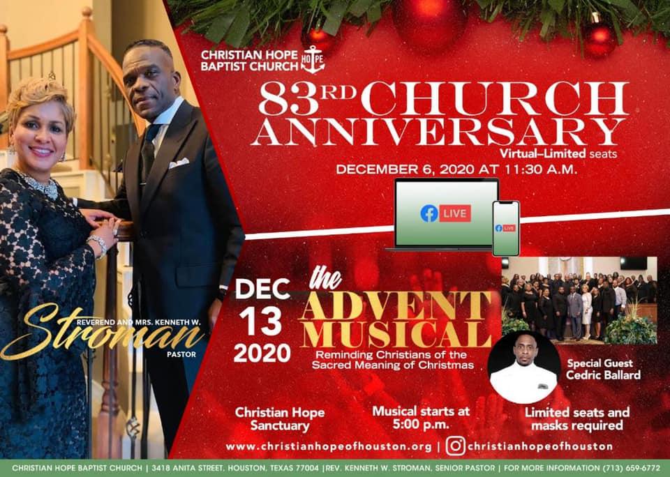 Advent Musical - Christian Hope Baptist Church