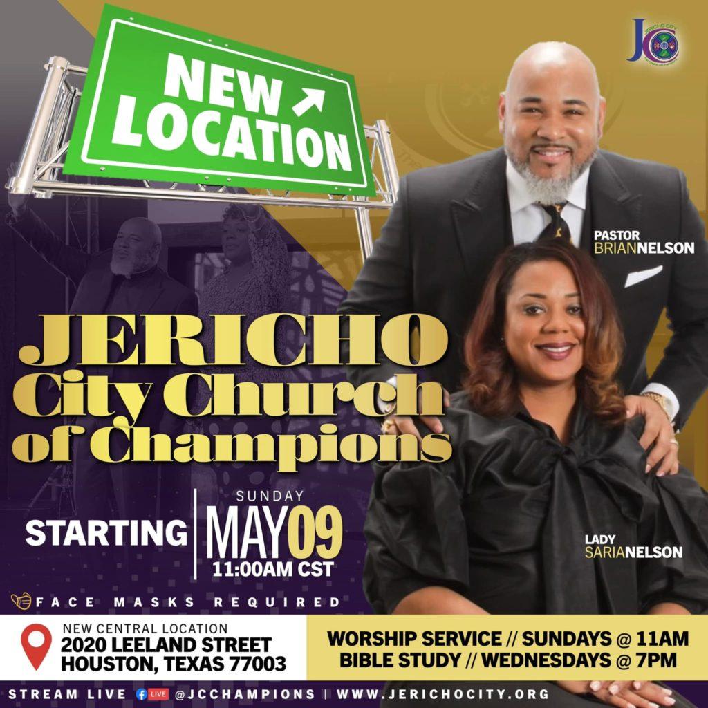 2020 Leeland Jericho City announcement