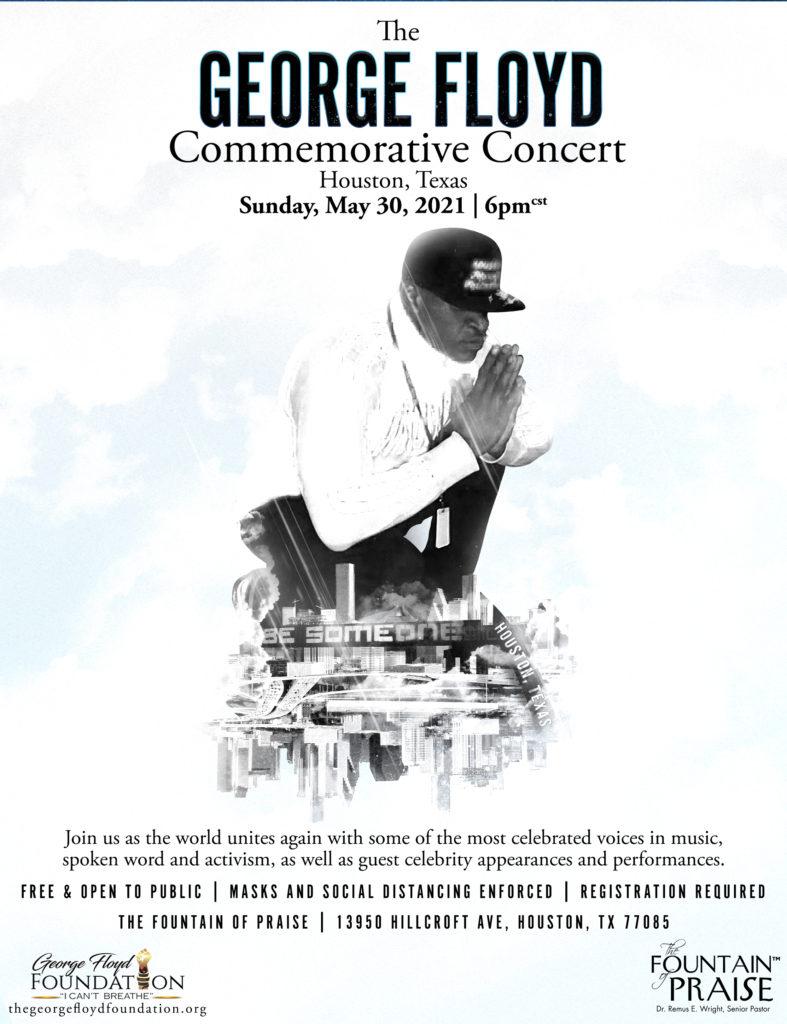 George Floyd Houston concert