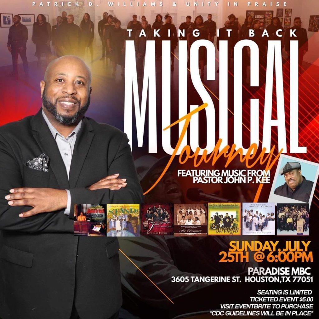 Patrick Williams Concert 2021