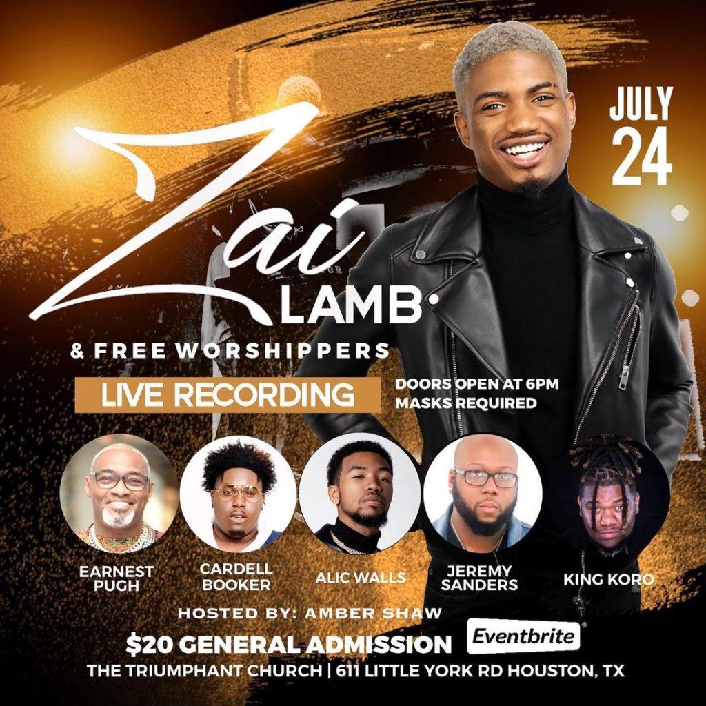 Zai Lamb & Free Worshippers Live Recording 2021
